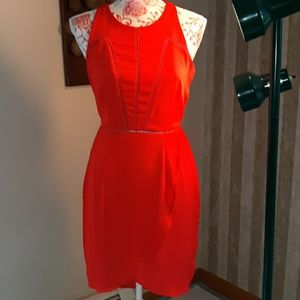 Red ladies small dress.Sienna sky